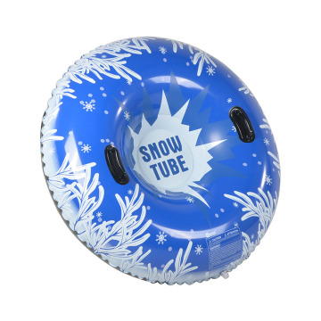 "Inflatable 48"" Round Snow Tube for winter sports"