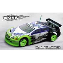 2.4g 1: 10 nitro rc carro 4WD brinquedo de controle remoto