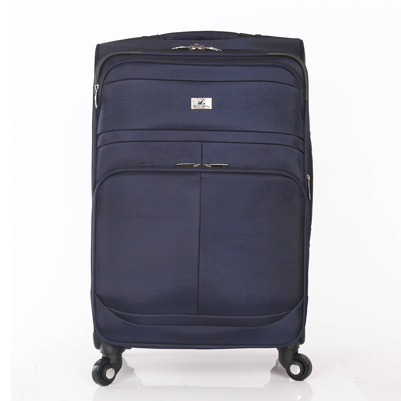 leisure style soft rolling waterproof fabric luggage trolley