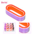 Mini Multi Color Round Four Side Nail Buffer