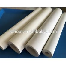 Factory price thermocouple electrical insulation 60% Al2O3 alumina ceramic tube pipe roller