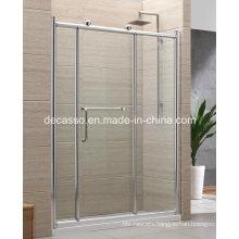 Temperd Glass Hinger with Frame Shower Screen (DXA-3)