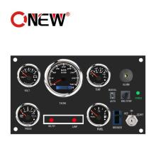 Auto Electric Display Gauge Water Temp Oil Temp Voltages vacuum Speed Fuel Tacho Pressure Diesel Engine Gauge Set