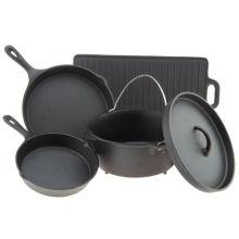 Sartenes de utensilios de cocina fundidos a medida