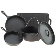 Customized Cast Iron Cookware Factory