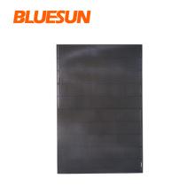 Beautiful apperance full black solar panel overlapping cell solar panel 410w Bluesun new technology solar 400w