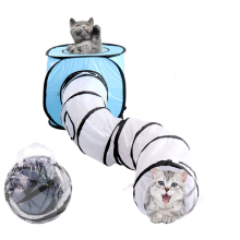 Tubo de túnel Pop-up Pet Cat Play