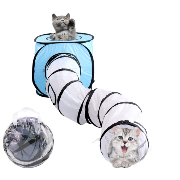 Pop-up Pet Cat Play Tunnel Tube