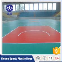 Chine Fournisseur Intérieur Badminton PVC Sport tapis de sol en plastique