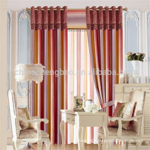 100% Polyester Material and Stripe Style line curtain