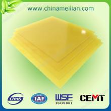 Hoja de tela de aislamiento eléctrica G10 (B)