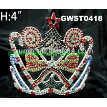 Kundenspezifische süßigkeit tiara -GWST0418