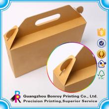 Изготовленный На Заказ Коробка Еды Крафт Отнять Упаковки Пищевых Продуктов Обед Коробка Печать