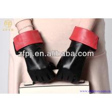 Guantes de cuero de la zalea del traje de la alta calidad 2014