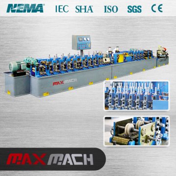 Rolling machine to make square tube