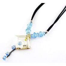 Collier en cristal design à la mode, design collier chic