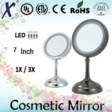 7′′ односторонний зеркало освещенный косметический столик