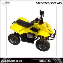 Crianças ATV 50cc como presente Cheap Quad Beautiful Mini ATV Quad