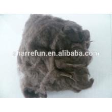 Sharrefun manufacturer 100% dehaired Tibet yak wool dark brown 19.0mic/26mm