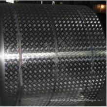 1050 1060 1100 3003 5052 5083 Folha de verificador de alumínio