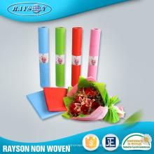 Non-Woven frische Blumensträuße Verpackungsmaterialien Papier