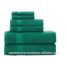 Желто-зеленые полотенца