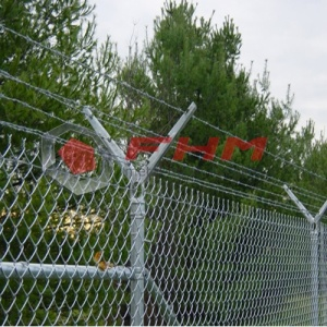 Galvanized Chain Link Fencing อุปกรณ์