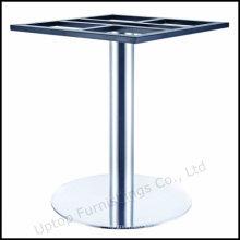 Трубу круглую кисть основание таблицы нержавеющей стали (СП-STL258)