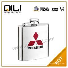 3oz stainless steel mini hip flask flagon