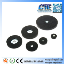 Rubberized Rubber Coated Covered Magnet
