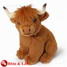ICTI Audited Factory Highland Kuh weichen Spielzeug
