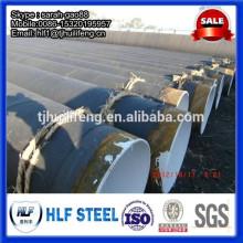 Пильный сварной трубопровод / структурный трубопровод / эпоксидное покрытие из угольной смолы