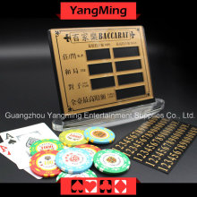High-Grade Pure Copper Entertainment Bet Card -1 (YM-LC08)