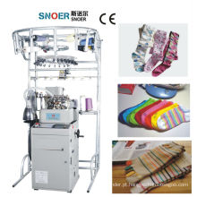 Bens para uso e completo informatizado meias de tricô a máquina
