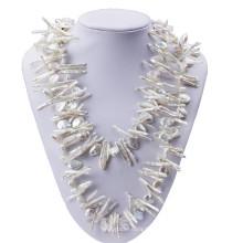120cm Lomg Baroque e Biwa Pearls Modern Pearl Necklace