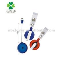 Runde Form einziehbarer Abzeichenhalter / Abzeichenrolle / ID Kartenhalter