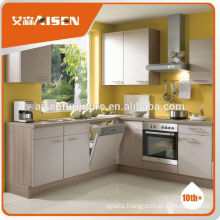 With quality warrantee factory directly piano finish kitchen cabinet