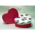 Presente de luxo do coração Presente Embalagem Caixa de Chocolate para Dia dos Namorados