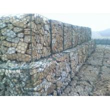 Malha de Cesta de Gabião de Pedra Hexagonal