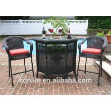 nail bar furniture bar table and chairs set