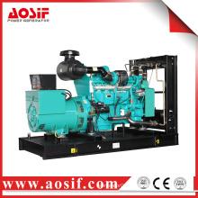 China top land generator set 350kw / 438kva 60Hz 1800 rpm marine diesel engine