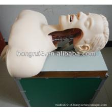 Treinamento de intubação da via aérea médica, treinamento de intubação da cavidade oral ou nasal