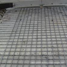Gerippte Stange geschweißte Maschendraht-Platte