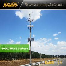 Support CE 400W Rooftop Small Wind Turbine Monitoring Use