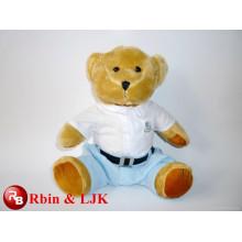 Conozca EN71 y ASTM estándar ICTI peluche de juguete de fábrica al por mayor de juguete oso de peluche