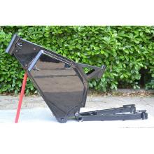 NBpower light carbon ebike frame enduro ebike frame color black white color for 190-240mm rear shock