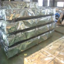 Feuille de toiture en acier ondulé galvanisé de 0,18 mm