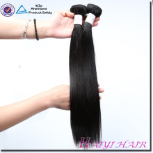 Large Stock Factory Price Virgin Hair Straight Natural color Double Sewn Weft Hair Bundle