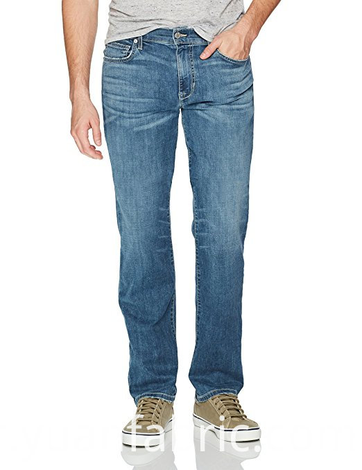 523men S Blended Capri Denim Pants