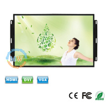 Open frame USB port touch screen monitor 15 with menu buttons